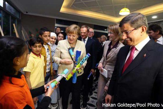 Davutoglu--Merkel