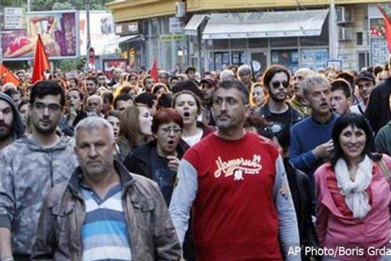 Skoplje-protest