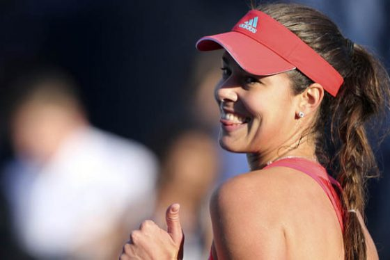 """FILE - In this Tuesday, Feb. 16, 2016 file photo, Ana Ivanovic from Serbia celebrates after she beat Daria Gavrilova from Australia during the second day of the Dubai Tennis Championships in Dubai, United Arab Emirates. Ana Ivanovic is retiring from tennis at age 29, ending a career in which she was ranked No. 1 in 2008 but can no longer play at the highest level because of injuries. In a live broadcast on Facebook, Ivanovic said Wednesday, Dec. 28, """"it was a difficult decision, but there is so much to celebrate."""" The Serb won 15 tour titles, including the 2008 French Open.(AP Photo/Kamran Jebreili, file)"""