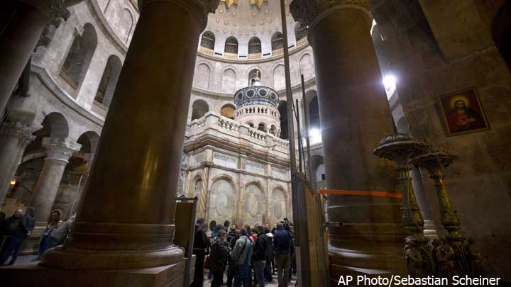 Church-of-the-Holy-Sepulchre,-AP-photo