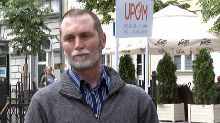 IZJAVA - Savo Pilipovic, predsednik udruženje pacijentima obolelih od melanoma