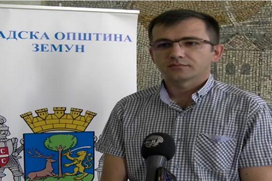 Nenad Vranjevac - predsednik skupstine GO Zemun NOVO