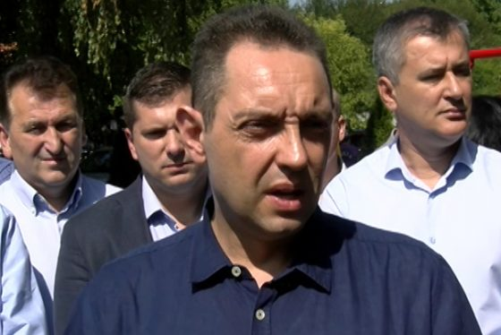 Zemun - izajava - Aleksandar Vulin - ministar odbrane