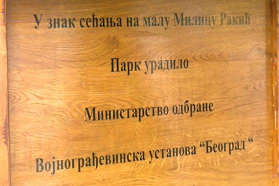 Zemun - pokrivanje - spomen park Milica Rakic