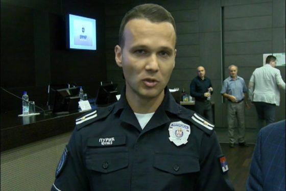 Vracar - izjava - Goran Puric - komandir policijske uprave