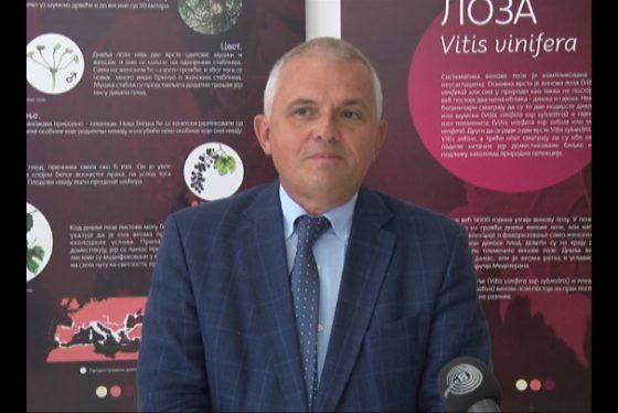 Vracar Izjava Izlozba covek i vino - Milan Nedeljkovic predsednik GO Vracar 05