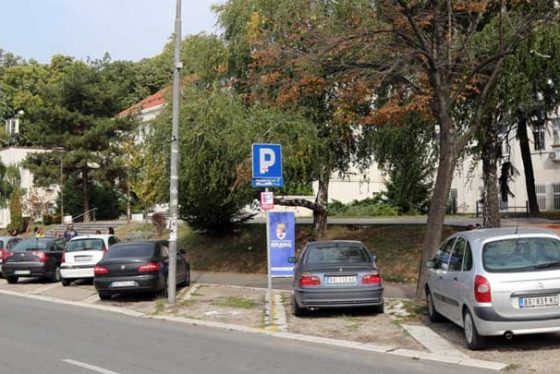 vozdovac-parking