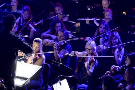 Beograd, 29. decembra 2017 - Novogodisnji koncert Beogradske filharmonije u Kolarcevoj zaduzbini. FOTO TANJUG / TANJA VALIC / bb