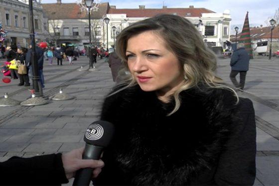 Zemun - izjava - Vera Jovic - direktorka ekspoziture Sosijete zeneral Zemun