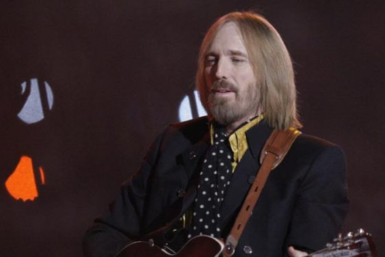 FILE - In this Sunday, Feb. 3, 2008 file photo, Tom Petty, of Tom Petty and the Heartbreakers, performs during halftime of the Super Bowl XLII football game between the New York Giants and the New England Patriots in Glendale, Ariz. Tom Petty's family says his death last year was due to an accidental drug overdose. His wife and daughter released the results of Petty's autopsy via a statement on his Facebook page Friday night, Jan. 19, 2018. (AP Photo/David J. Phillip, File)