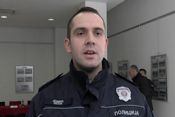 Vracar CH - Rade Jesic nagradjeni policajac