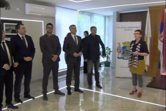 Medjunarodno pristaniste POKRIVANJE Potpisivanje ugovora thumbnail