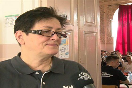 Zemun - Izjava - Jovanka Lastin - direktorka srpskog zabavista, osnovne skole i gimnazije Nikola Tesla u Budimpesti