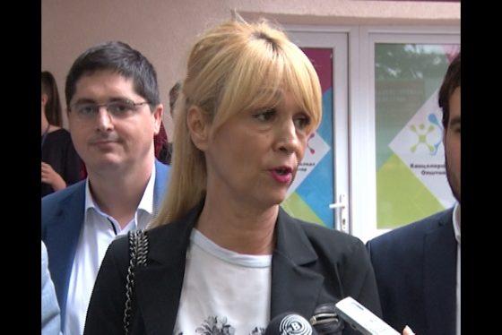 Vracar - Dragana Pesic -vd. gradskog sekretara za sport i omladinu