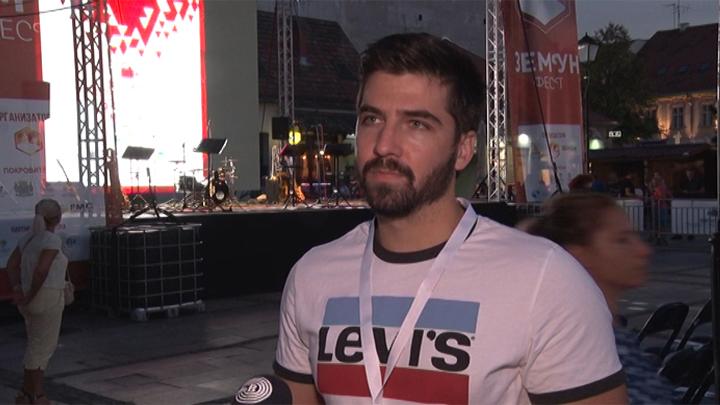 Zemun - izjava - Nikola Rajicic - clan organizacionog odbora festivala