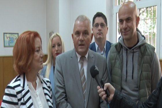 Vracar - CH Milan Nedeljkovic - predsednik opstine Vracar
