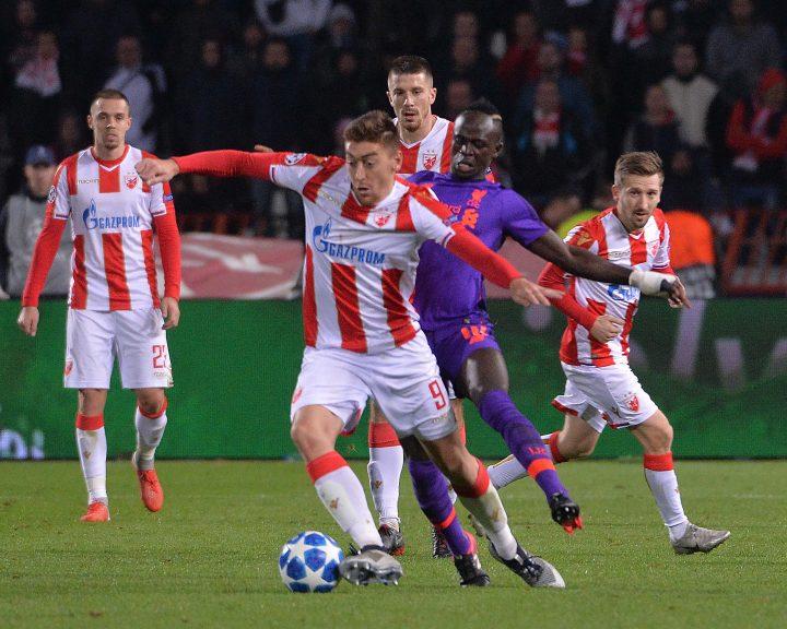 Beograd, 6. novembra 2018 - Fudbaler Crvene zvezde Milan Pavkov na utakmici cetvrtog kola Grupe C Lige sampiona izmedju Crvene zvezde i Liverpula. FOTO TANJUG / ZORAN ZESTIC / bb