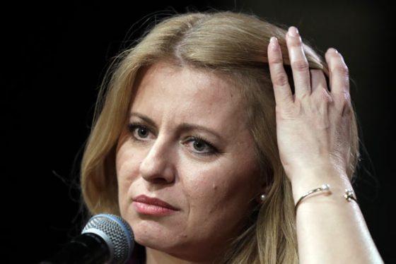 zuzana-slovacka-predsednik--AP-Photo-Petr-David-Josek
