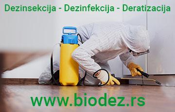 dezinsekcija i deratizacija Beograd